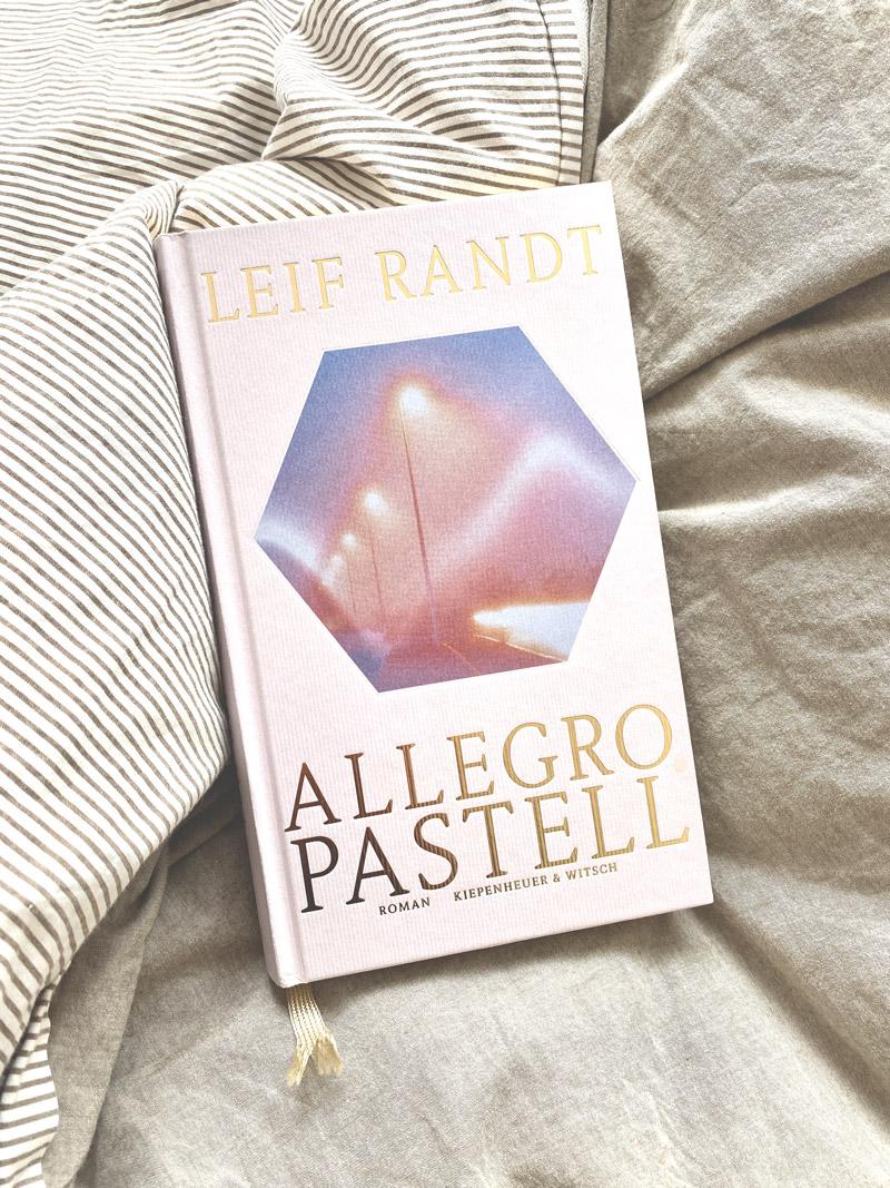 Coverfoto vom Buch Allegro Pastell von Leif Randt