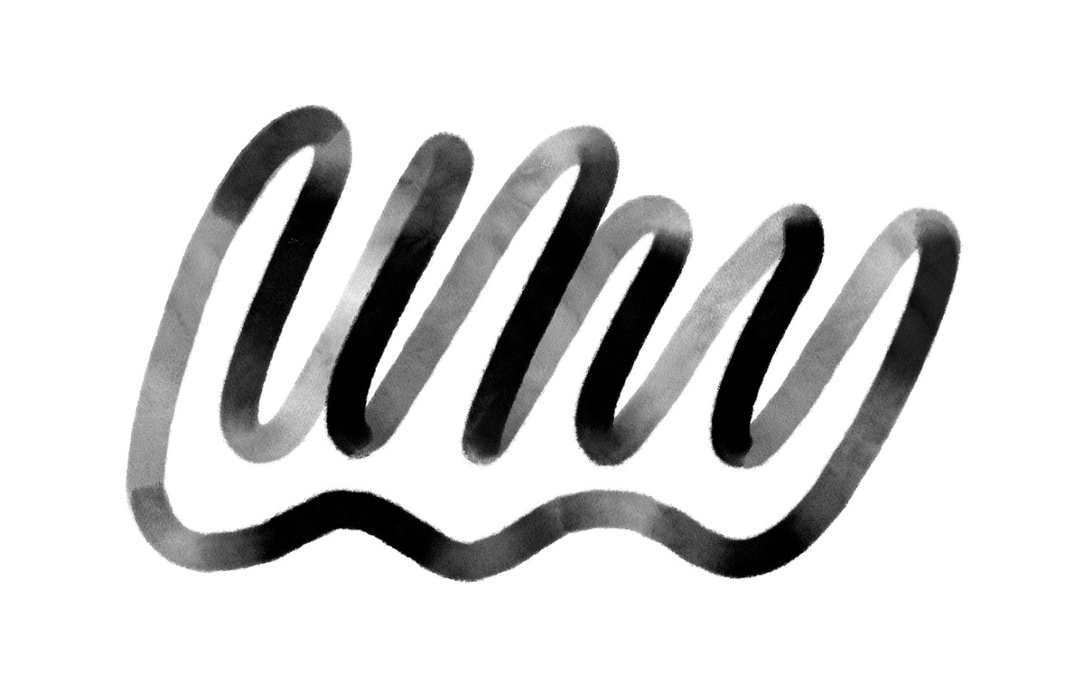 Drawing of the word Why